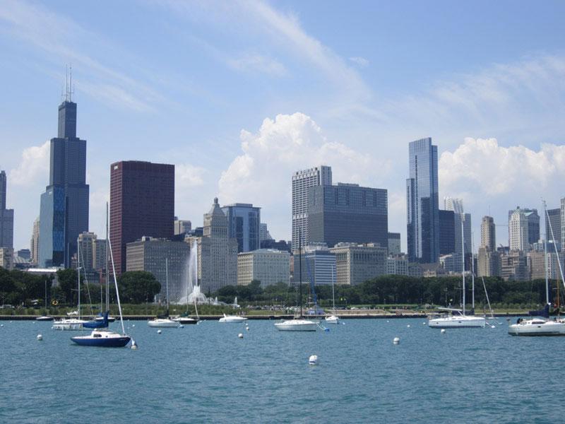 Inspiration Monday :: Sailing on Lake Michigan