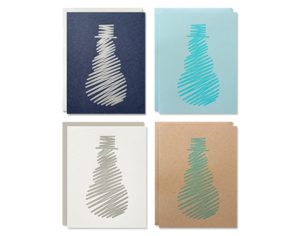 Holiday Cards | Abstract Snowman Card Boxed Set