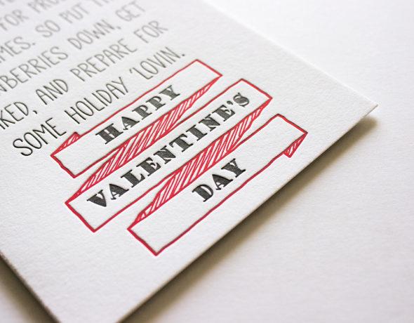Funny Valentines Card | Holiday 'Lovin