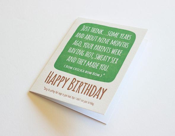 Sexy Birthday Card