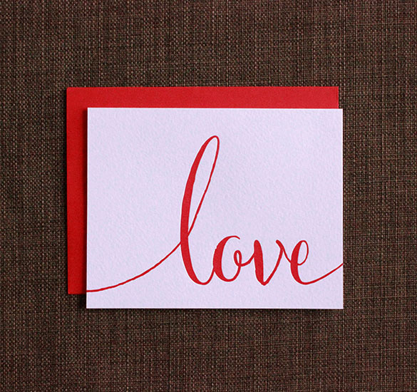 Love Cards | Love Note Card