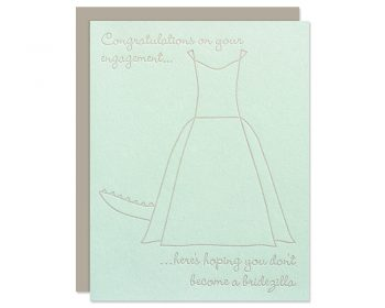 Funny Bridal Shower Card