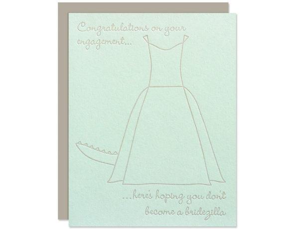 Funny Bridal Shower Card