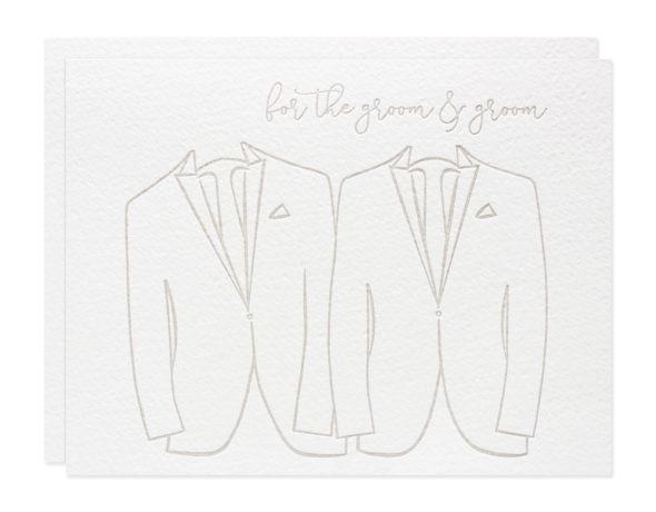 Gay Wedding Card | For the Groom & Groom Wedding Card