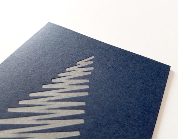 Holiday Card | Abstract Christmas Tree Card Boxed Set
