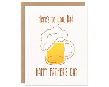 Father's Day Mug Card
