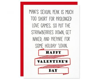 Funny Valentines Card | Holiday 'Lovin