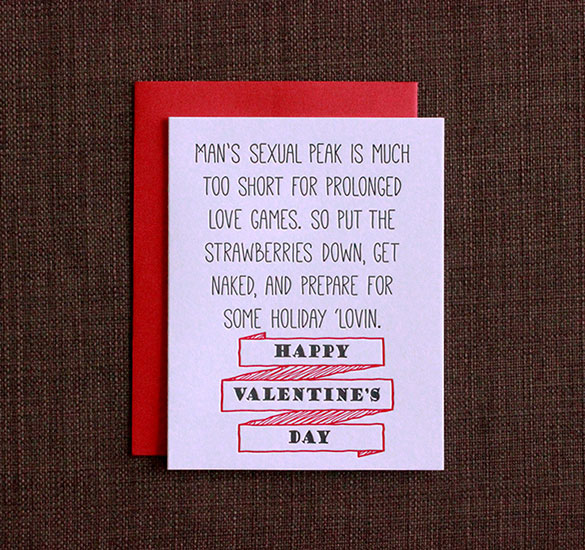 Funny Valentines | Holiday 'Lovin Valentine's Day Card