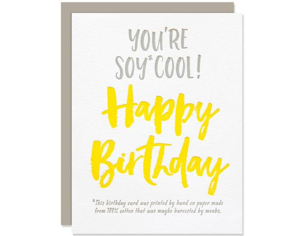 Vegan Birthday Card