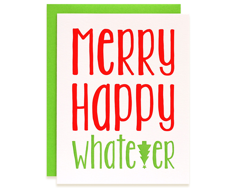 Funny Christmas Cards | Whatever Holiday Cards Boxed Set | Bloom ...